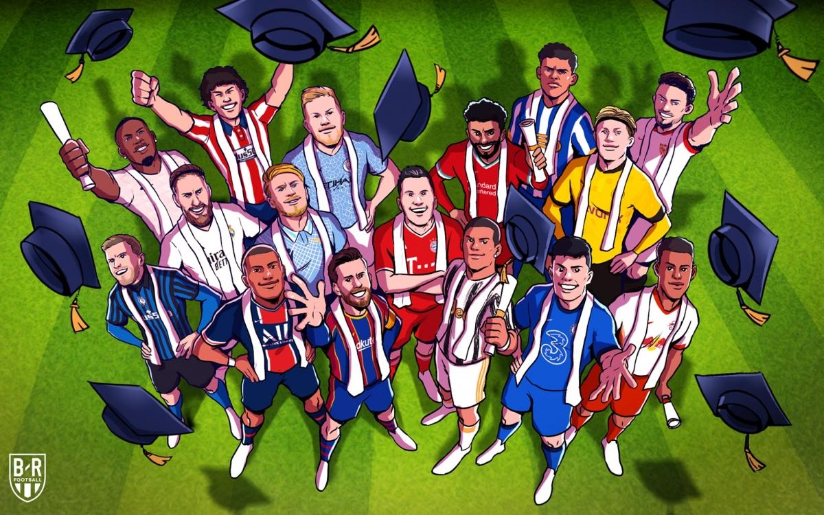 Những CLB giành vé vào vòng 1/8 Champions League 2020/2021.