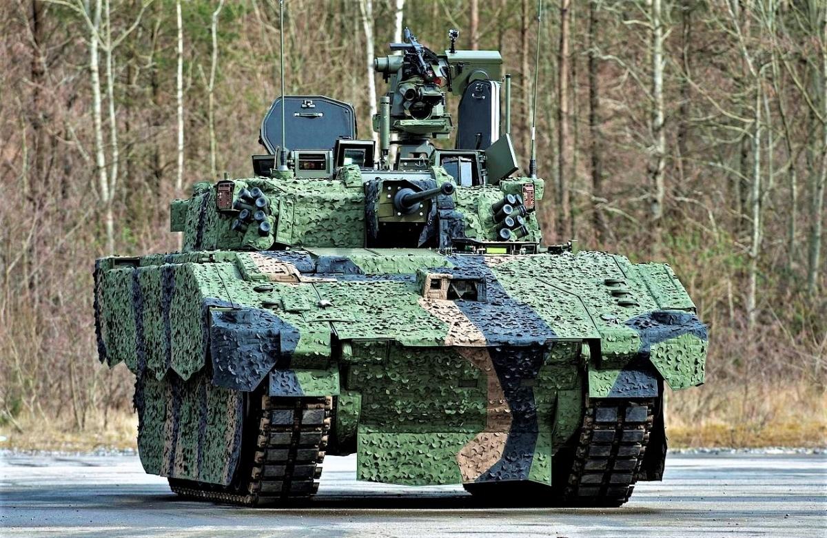 Xe chiến đấu bộ binh Ajax; Nguồn: wikipedia.org