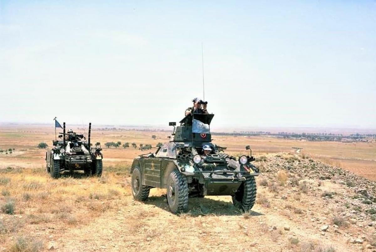 Lực lượng gìn giữ hòa bình Liên Hợp Quốc được phái đến Síp năm 1964. Nguồn: topwar.ru