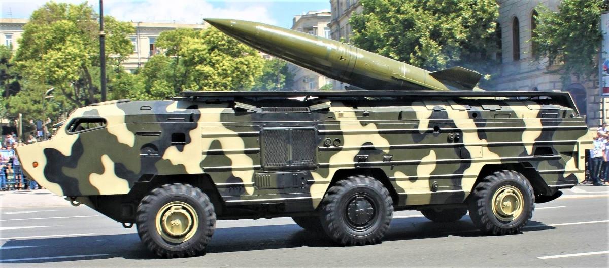 Tên lửa hạt nhân chiến thuật OTR-21 Tochka của Liên Xô. Nguồn: wikipedia.org