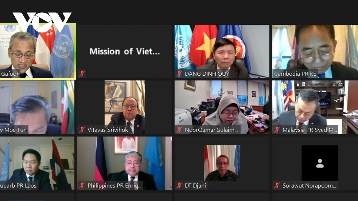Việt Nam chủ trì họp tổng kết Ủy ban ASEAN tại New York.