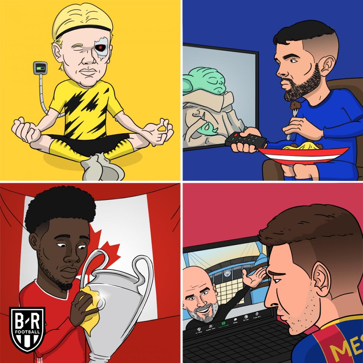 Champions League 2020/2021 nghỉ tới tháng 2 mới thi đấu vòng 1/8./.