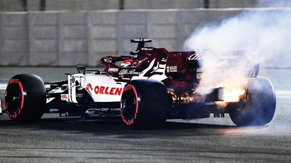 Sự cố đáng sợ đã xảy ra tại cuộc đua thử chặng đua F1 Abu Dhabi 2020 diễn ra ngày 11/12.