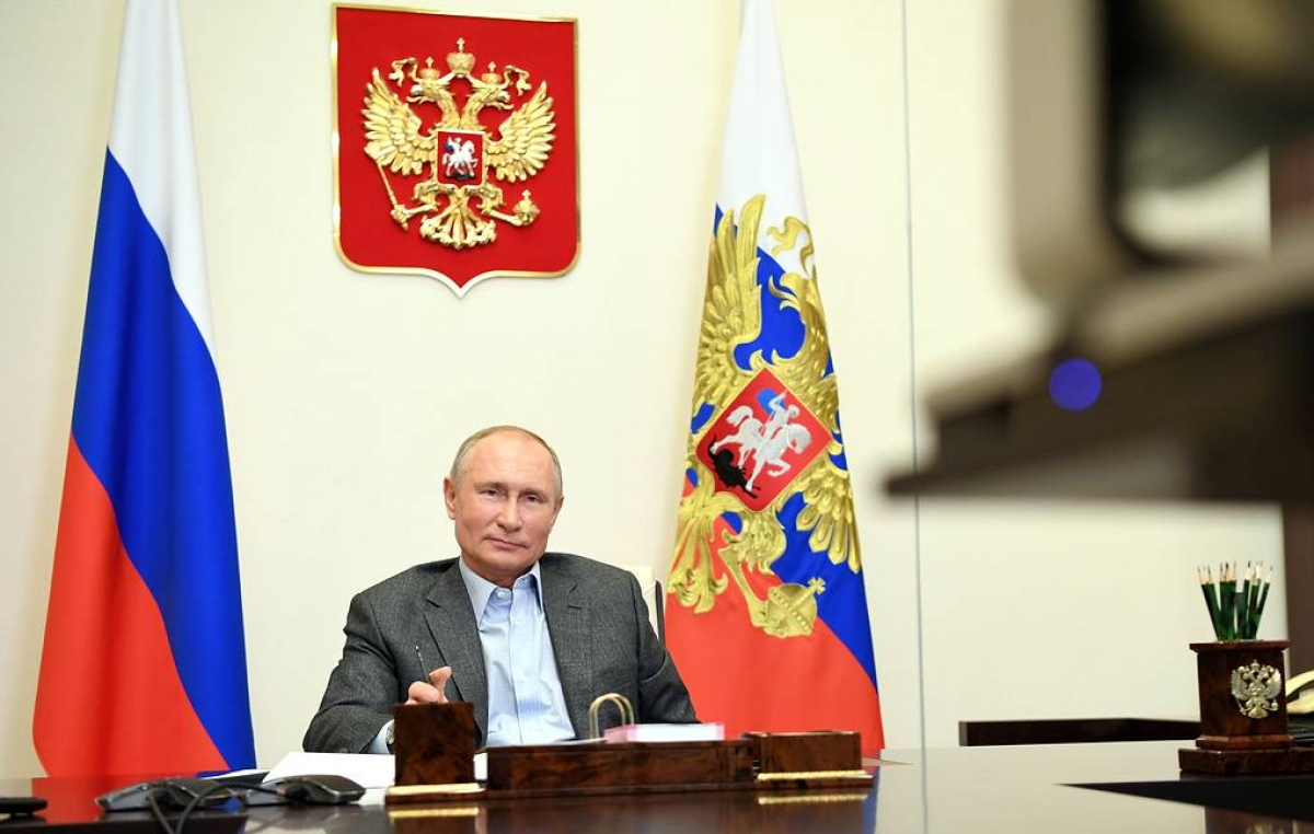 Tổng thống Nga Putin (Nguồn: Tass)