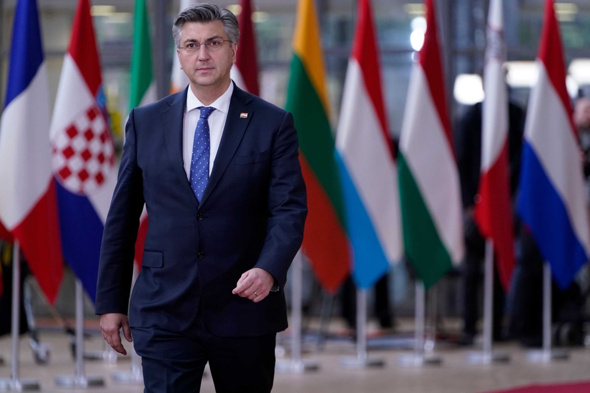 Thủ tướng nước này Andrej Plenkovic. Ảnh: CNN