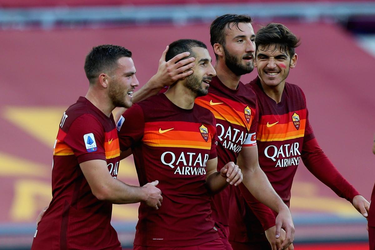 5. Henrikh Mkhitaryan (AS Roma) 7 bàn thắng.
