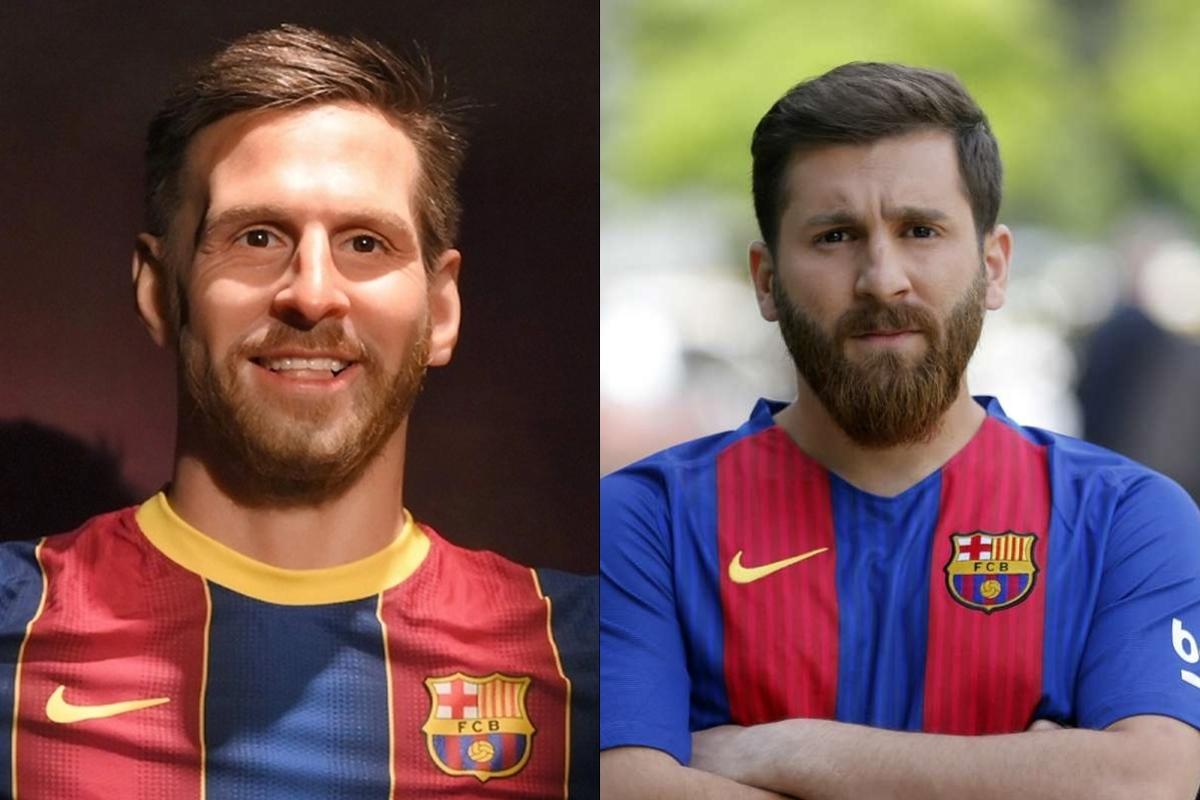"""Thậm chí có giả thiết hài hước rằng tác giả đã """"lấy nhầm"""" hình mẫu Reza Parastesh, anh chàng người Iran có diện mạo rất giống với Lionel Messi."""