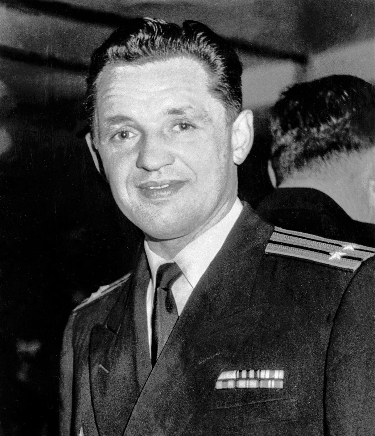 Tùy viên Hải quân Liên Xô Eugene Ivanov. Nguồn: RBTH