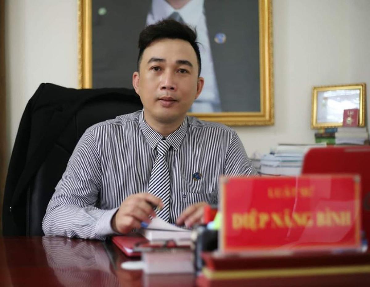Luật sư Diệp Năng Bình, trưởng VP luật sư Tinh thông luật