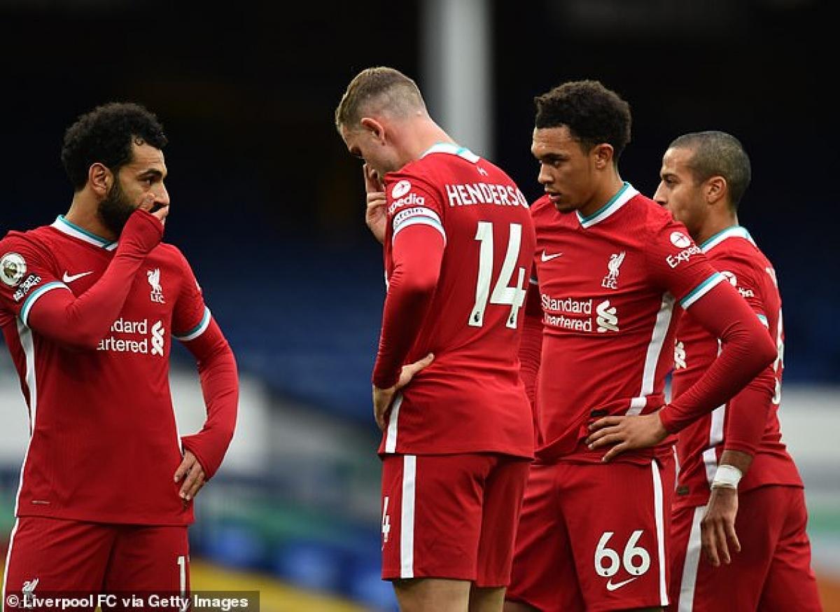Đội hình Liverpool đã bị tàn phá nghiêm trọng ở mùa giải này, ngoài Virgil Van Dijk còn có hàng loạt ngôi sao khác dính chấn thương như Joe Gomez, Alisson, Trent Alexander-Arnold, Thiago, Jordan Henderson, Naby Keita, James Milner...