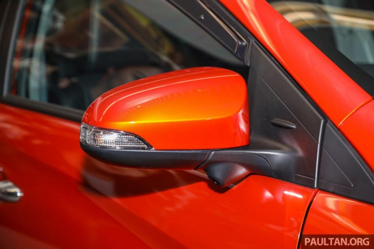 Ngoài ra cũng có gói GR-S nếu bạn cần một chiếc xe thể thao hơn nếu chi thêm 7.700 RM (tương đương 44 triệu đồng) được lấy cảm hứng từ chiếc Vios GR-S.