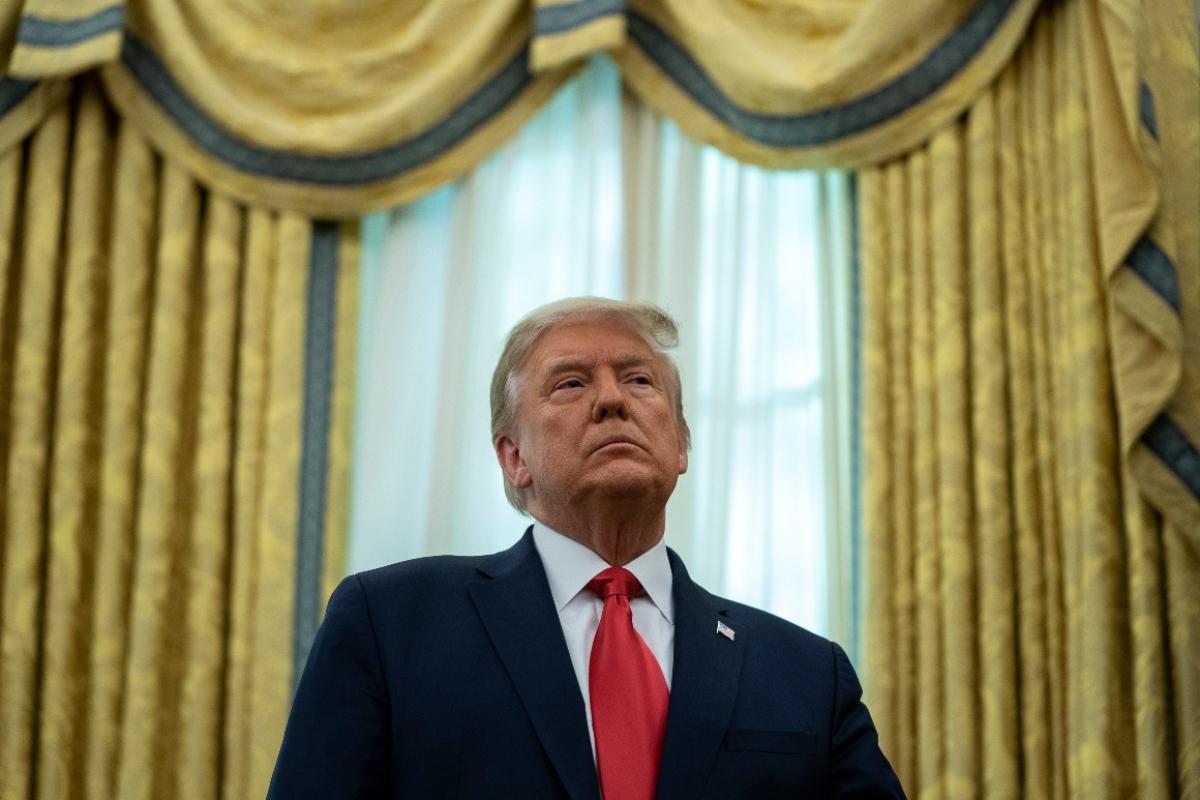 Ông Trump đang cân nhắc tổ chức sự kiện tuyên bố kế hoạch tranh cử tổng thống năm 2024 vào ngày 20/1/2021. Ảnh: AP