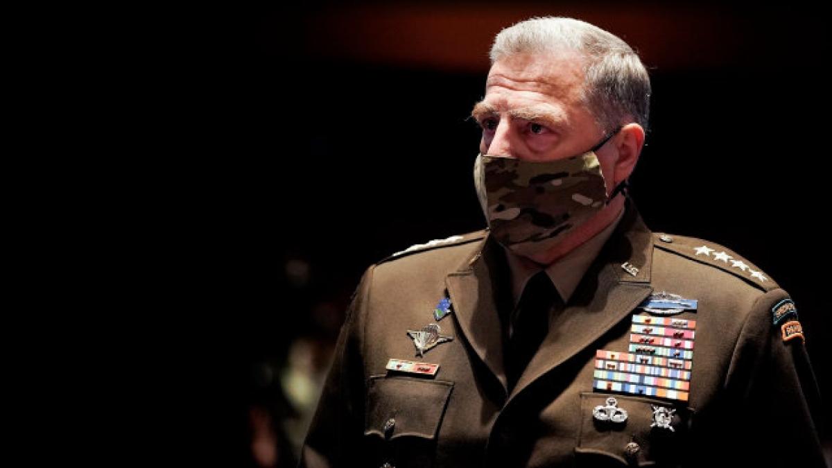 Tướng Lục quân Mark Milley, Chủ tịch Hội đồng Tham mưu trưởng Liên quân Mỹ. Ảnh: Getty