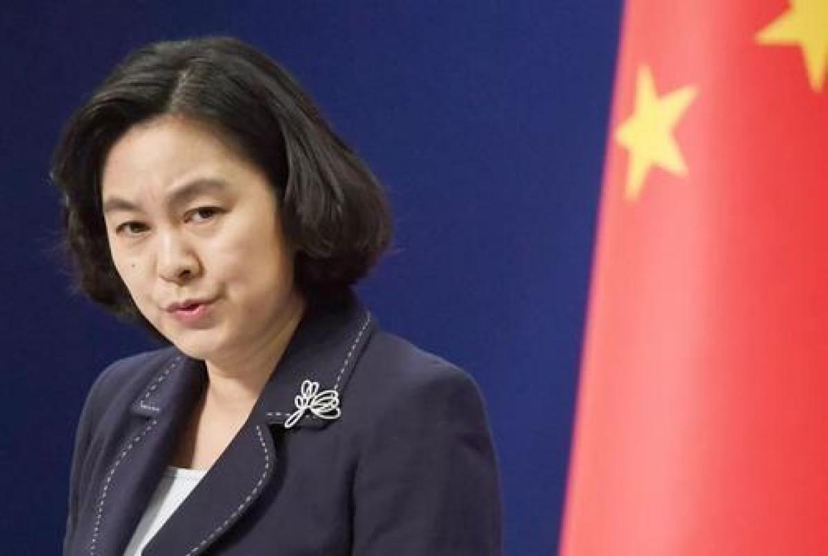 Người phát ngôn Bộ Ngoại giao Trung Quốc Hoa Xuân Oánh. Ảnh: CFP