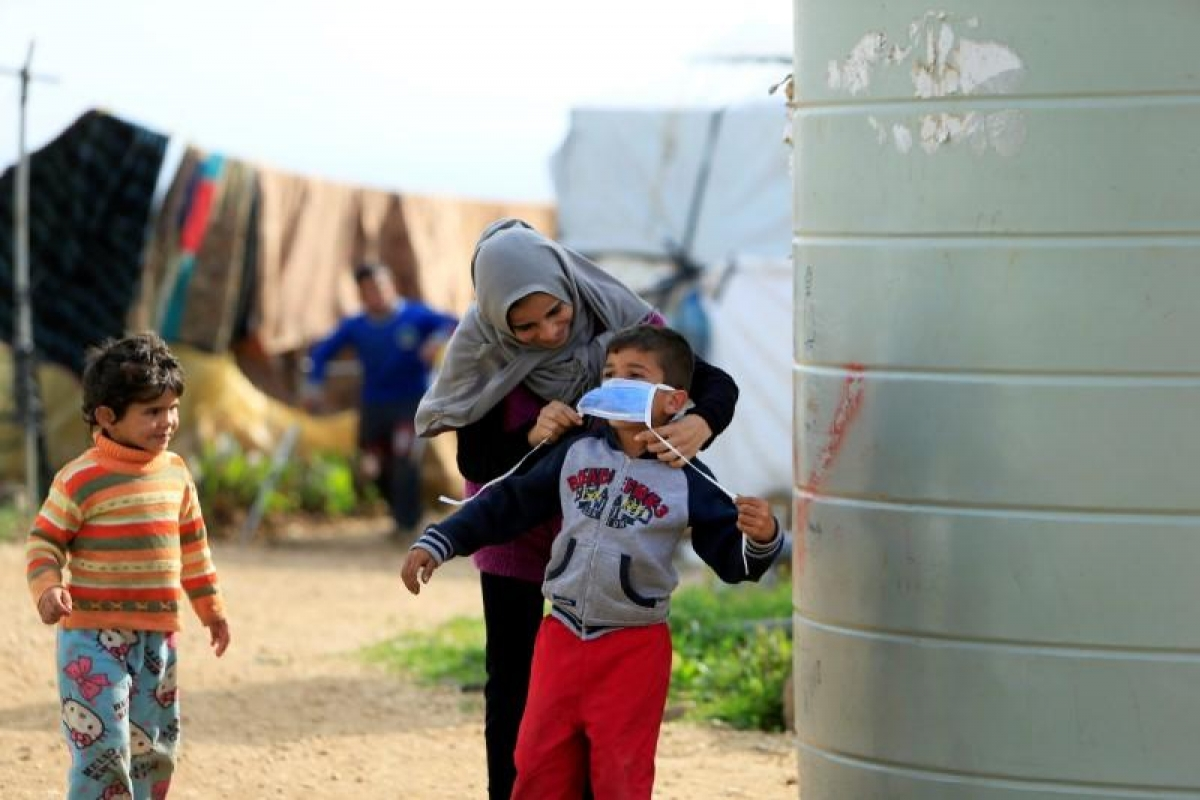 Đại dịch Covid-19 đang diễn biến nghiêm trọng hơn tại Syria. Ảnh minh họa: Reuters