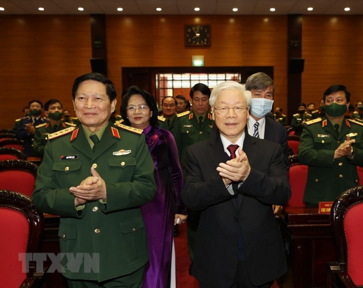 Tổng Bí thư, Chủ tịch nước, Bí thư Quân ủy Trung ương Nguyễn Phú Trọng. Ảnh: TTXVN