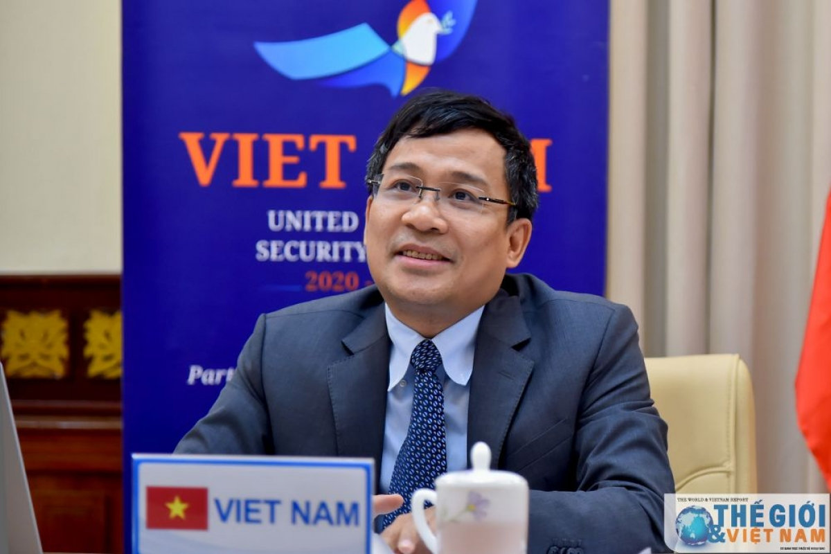 Thứ trưởng Ngoại giao Nguyễn Minh Vũ (Ảnh: Thế giới và Việt Nam)