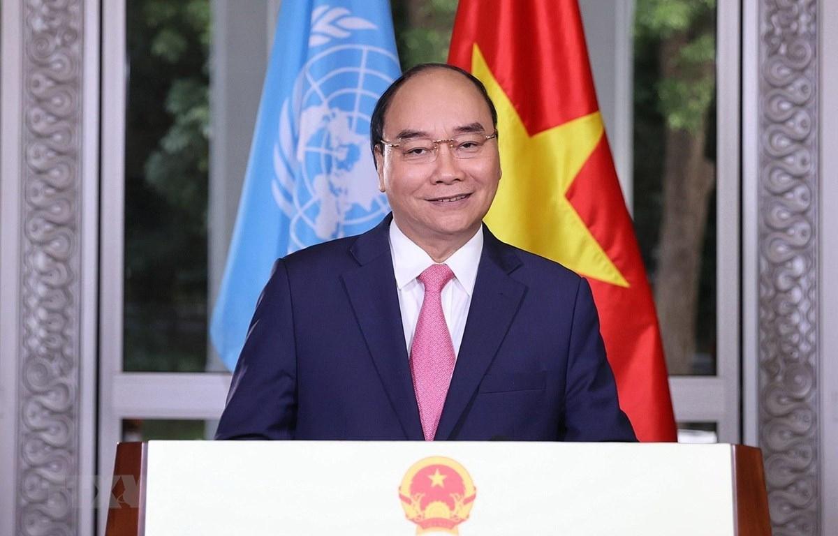 Thủ tướng gửi thông điệp đặc biệt tại phiên họp của LHQ về ứng phó COVID-19. Ảnh: TTXVN
