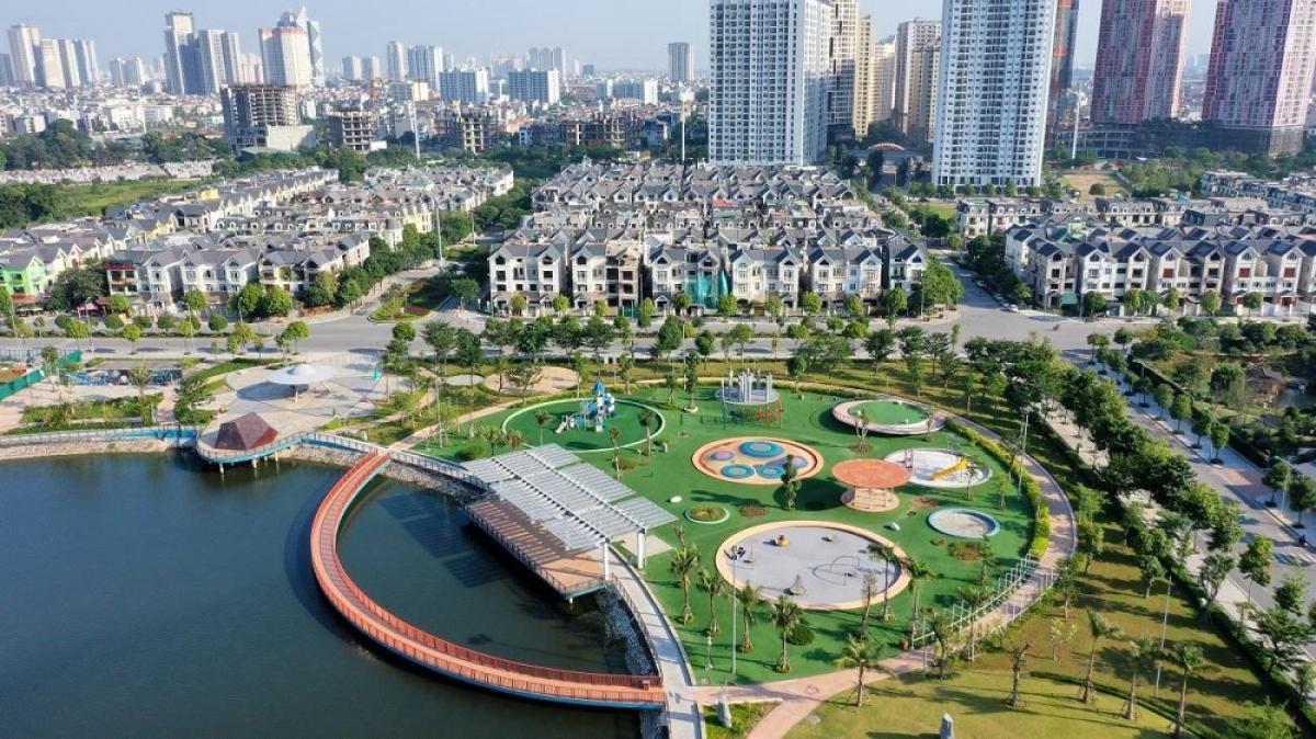 Không gian sống xanh tại Khu đô thị Dương Nôi, Hà Đông