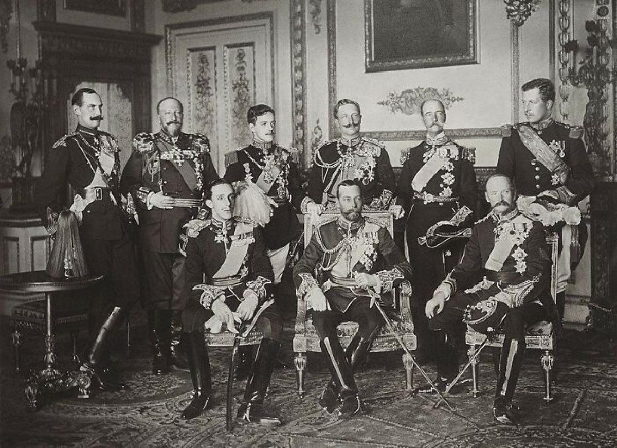 Bức ảnh 9 vị vua châu Âu được chụp lần đầu tiên và lần duy nhất ngày 20/5/1910.