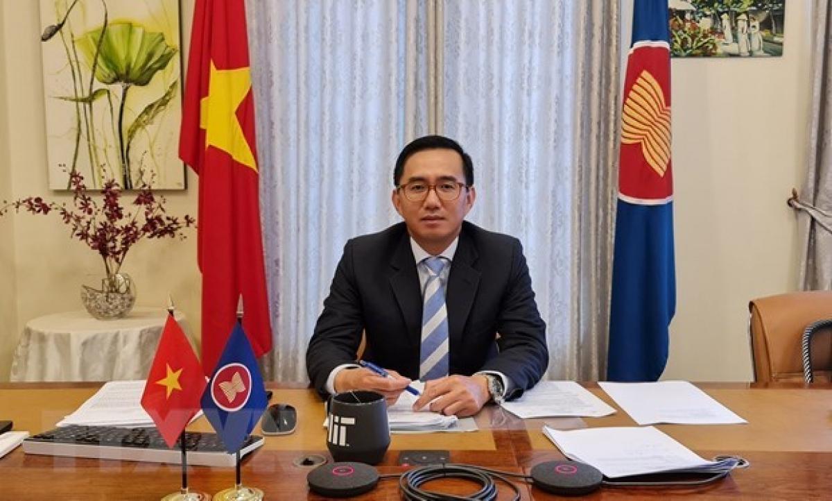 Ambassador Tran Duc Binh, head of Vietnam's permanent mission to ASEAN (Photo: VNA)