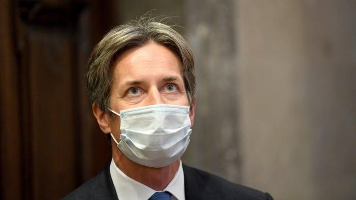 Cựu Bộ trưởng tài chính Áo Grasser (Ảnh: BBC)