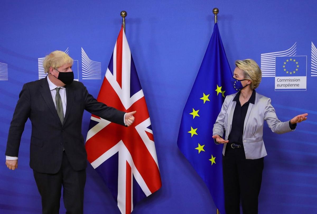 Anh và EU trải qua 10 tháng đàm phán vô cùng căng thẳng.