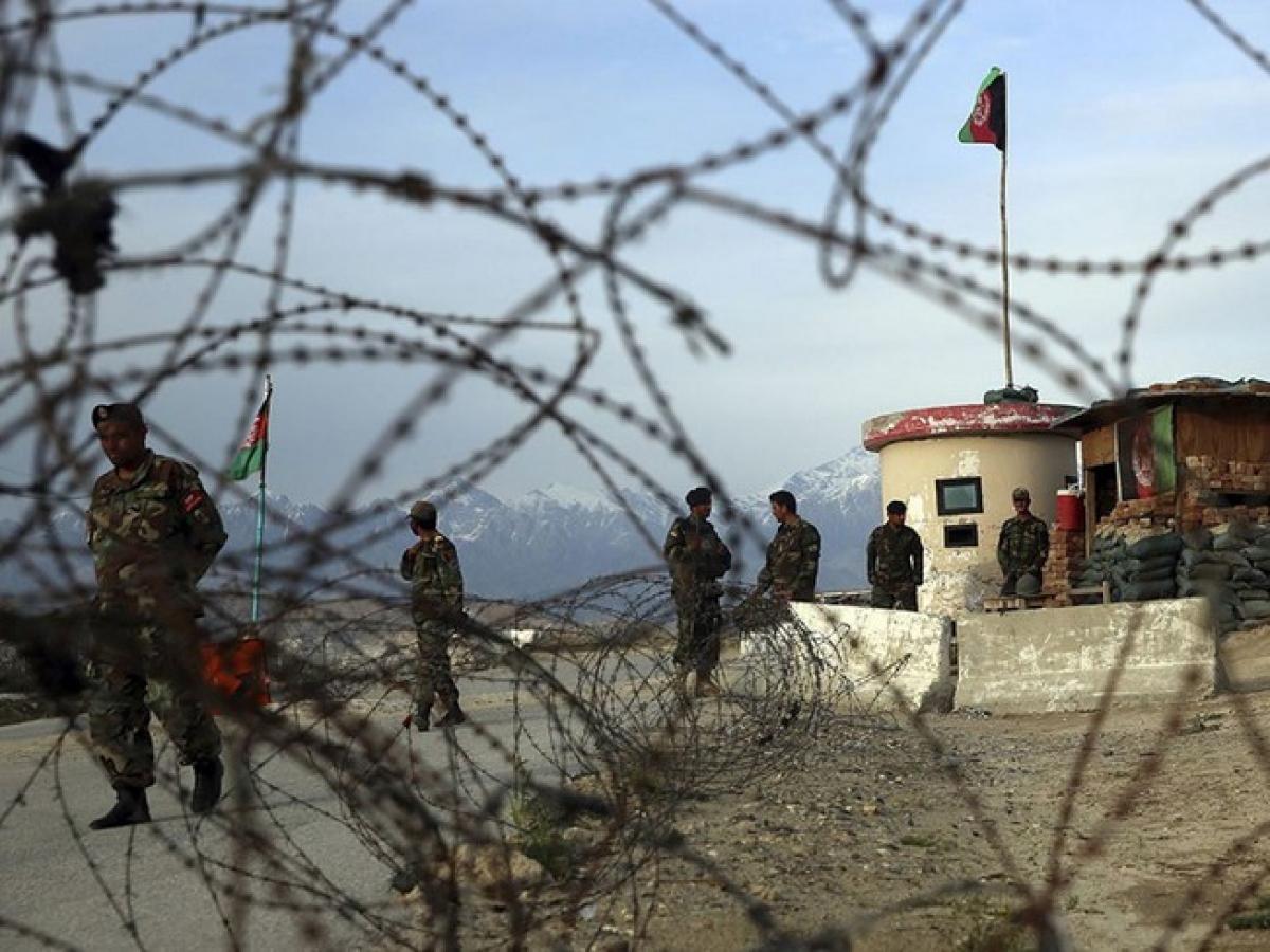 Căn cứ không quân Bagram là căn cứ lớn nhất của Mỹ ở Afghanistan. Ảnh: AP