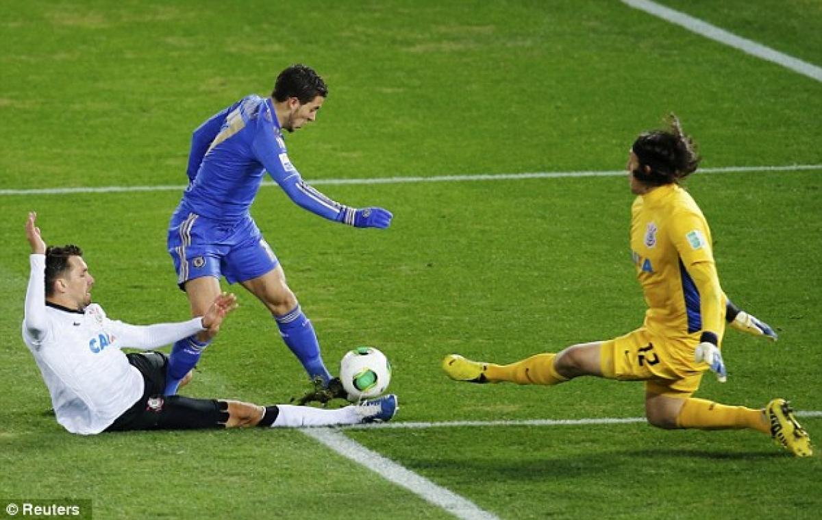 Chelsea có nhiều hảo thủ nhưng cuối cùng lại thất bại trước Corinthians ở chung kết Club World Cup ngày này 8 năm trước. (Ảnh: Reuters).