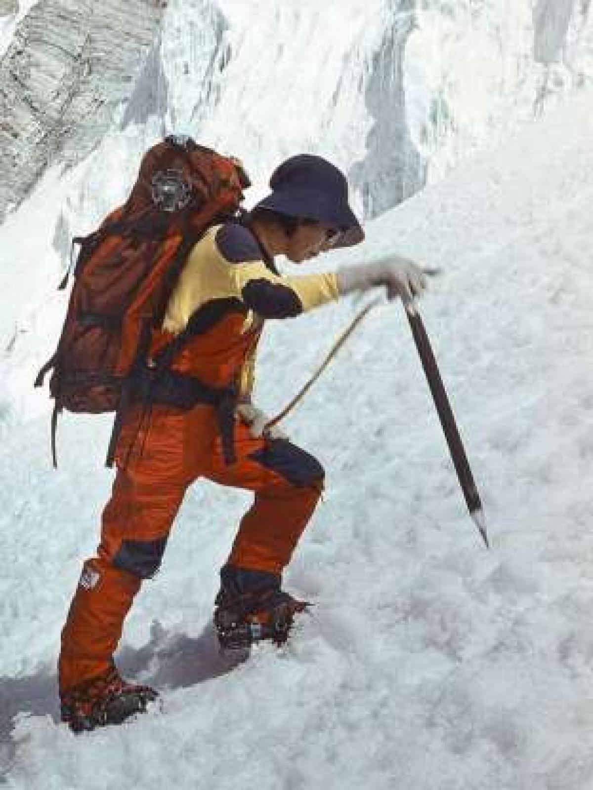 Nhà leo núi người Nhật Junko Tabei là người phụ nữ đầu tiên leo lên đỉnh Everest vào tháng 5/1975.