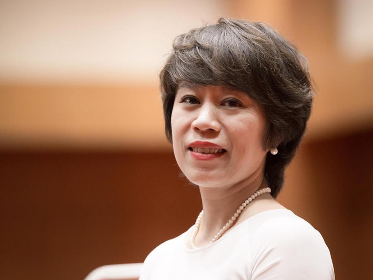 Bà Tạ Thị Phương Lan, Phó vụ trưởng Vụ Quản lý thuế doanh nghiệp nhỏ, vừa và hộ kinh doanh, cá nhân - Tổng cục Thuế (Ảnh: KT)