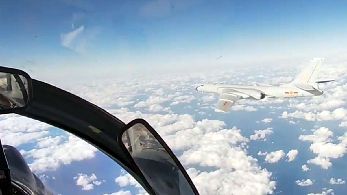 Nga và Trung Quốc tiến hành sứ mệnh tuần tra chung trên Tây Thái Bình Dương. Ảnh: Bộ Quốc phòng Nga.