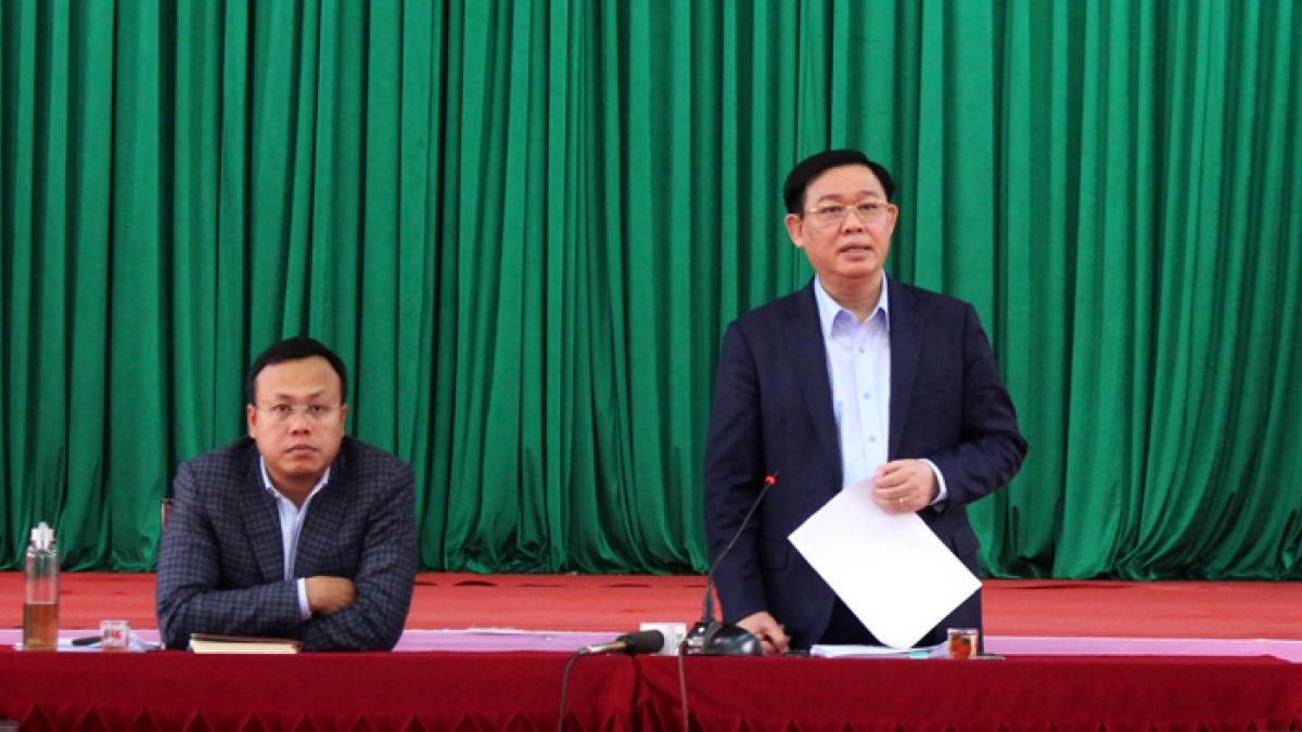 Bí thư Thành ủy yêu cầu phải chủ động, quyết liệt hơn trong xử lý các bức xúc tại khu vực xử lý rác thải Sóc Sơn (Ảnh: Cổng TTĐT TP Hà Nội)