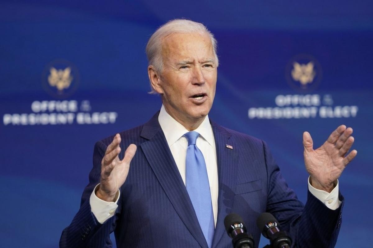 Tổng thống đắc cử Joe Biden. Ảnh: AP