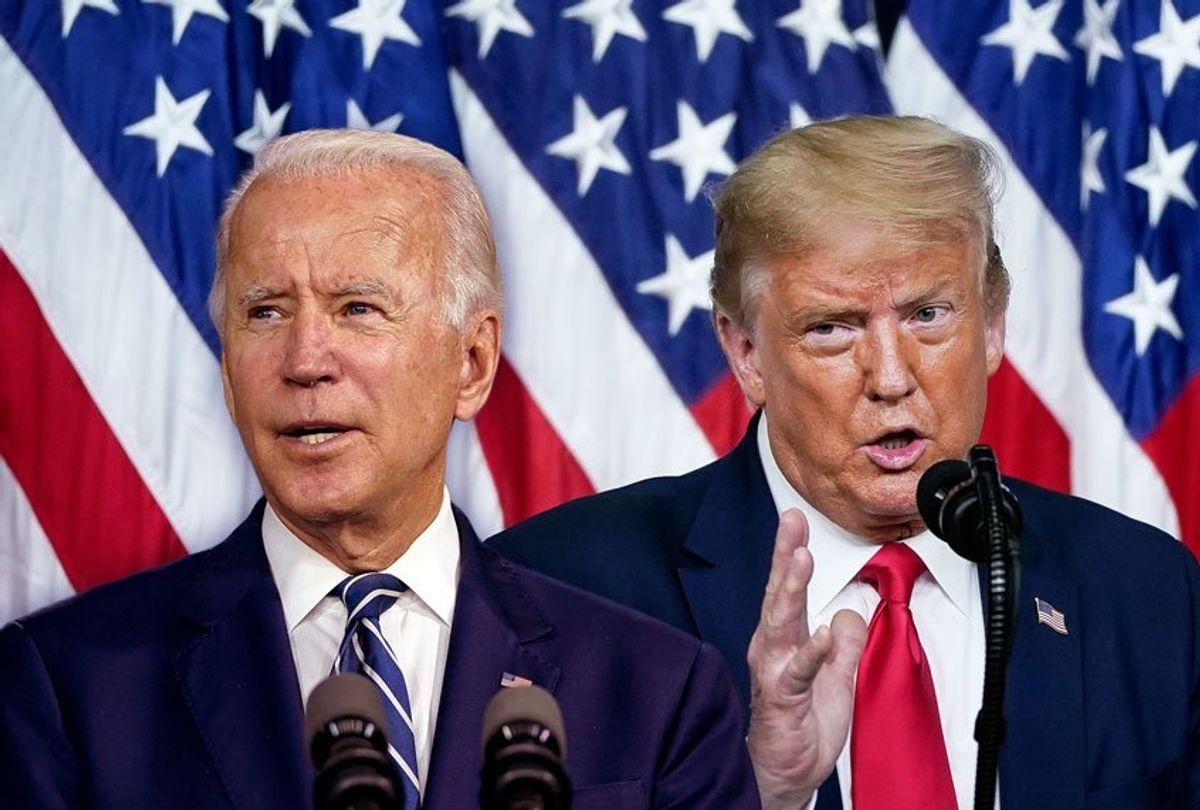 """Joe Biden khó đảo ngược chính sách """"Nước Mỹ trước tiên"""" của Trump. Ảnh: Getty"""