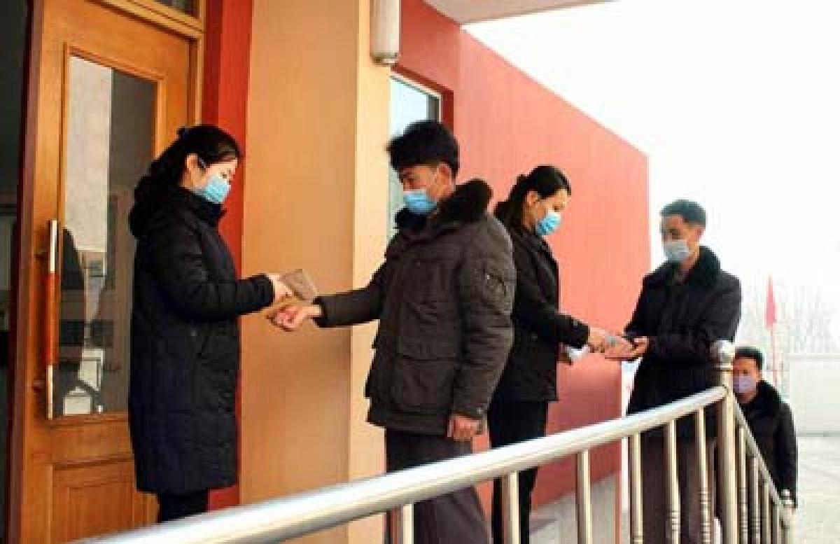 Thủ đô Bình Nhưỡng của Triều Tiên siết chặt công tác phòng chống dịch Covid-19. Nguồn Rodong Sinmun