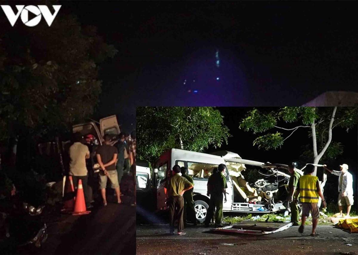 Nguyên nhân ban đầu do xe khách 16 chỗ mang biển số 86B - 010.87 lấn làn sang trái dẫn đến vụ tai nạn. Cơ quan chức năng cũng khởi tố vụ án, qua điều tra xác định tài xế cầm lái chiếc xe 16 chỗ trên là Lê Thanh Trúc (48 tuổi) đã chết trong vụ tai nạn trên nhưng chưa đủ điều kiện để lái xe khách 16 chỗ.