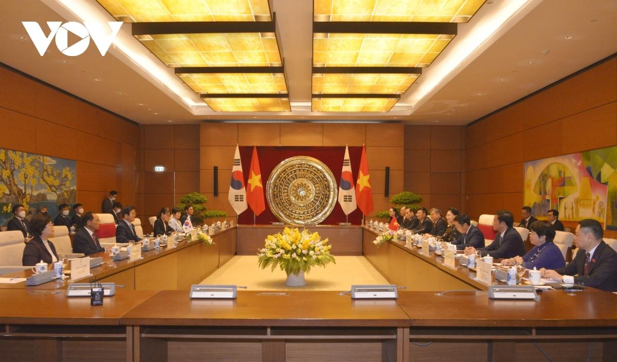 Đây là chuyến thăm chính thức Việt Nam đầu tiên của Chủ tịch Quốc hội Park Byeong-Seug trên cương vị Chủ tịch Quốc hội khóa 21 của Hàn Quốc từ khi nhậm chức ngày 5/6/2020.