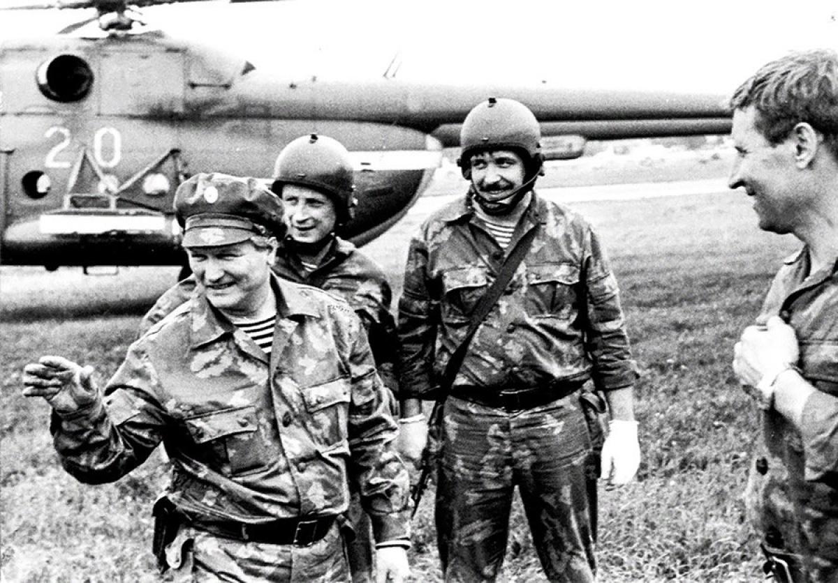 Chỉ huy nhóm đặc nhiệm Alfa - Gennadiy Zaytsev. Ảnh: Alpha group.