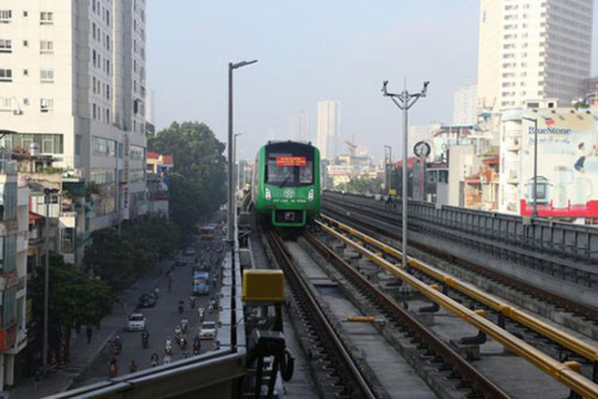 Từ ngày 12 đến ngày 31/12 tới đây, tuyến đường sắt Cát Linh - Hà Đông sẽ chạy thử 20 ngày để đánh giá an toàn trước khi đưa vào khai thác thương mại.