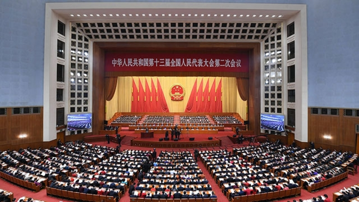 Quốc hội Trung Quốc (Ảnh: people.cn)