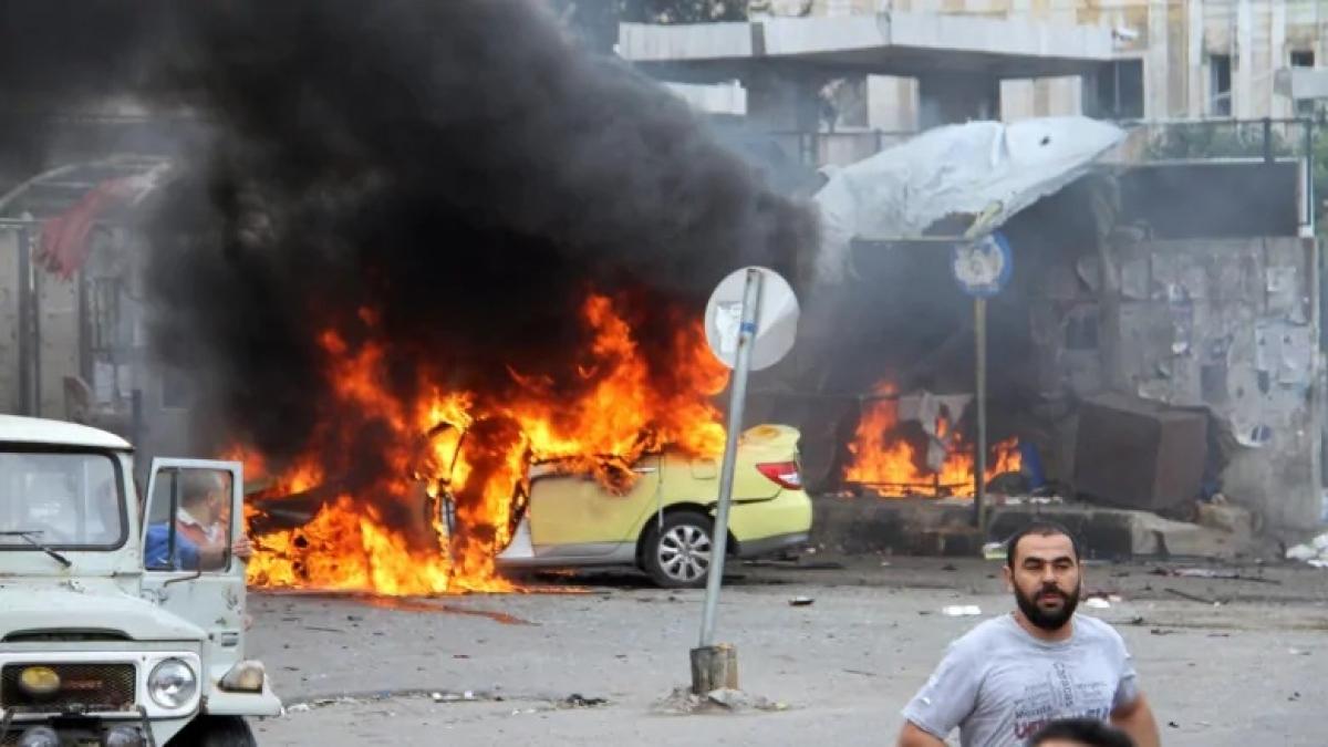 Một vụ đánh bom xe. (Ảnh minh họa: CBC)