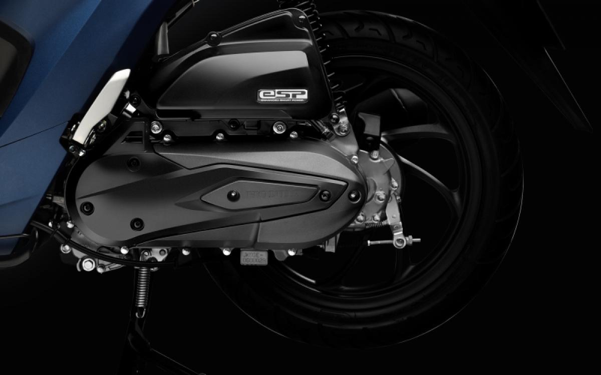 Động cơ eSP dung tích 110 cc trên Vision.