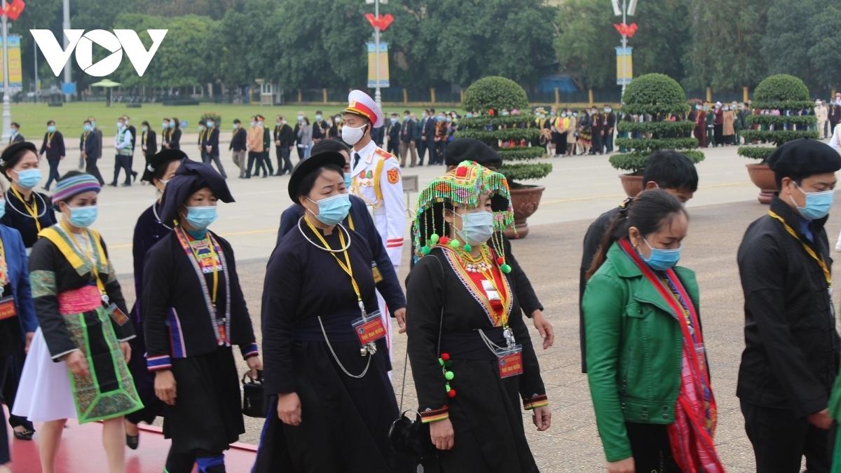 Đại hội đại biểu Toàn quốc các Dân tộc thiểu số Việt Nam lần thứ 2 năm 2020 là diễn đàn giao lưu, học tập, trao đổi kinh nghiệm giữa các dân tộc. Ảnh: Vân Anh/VOV.VN