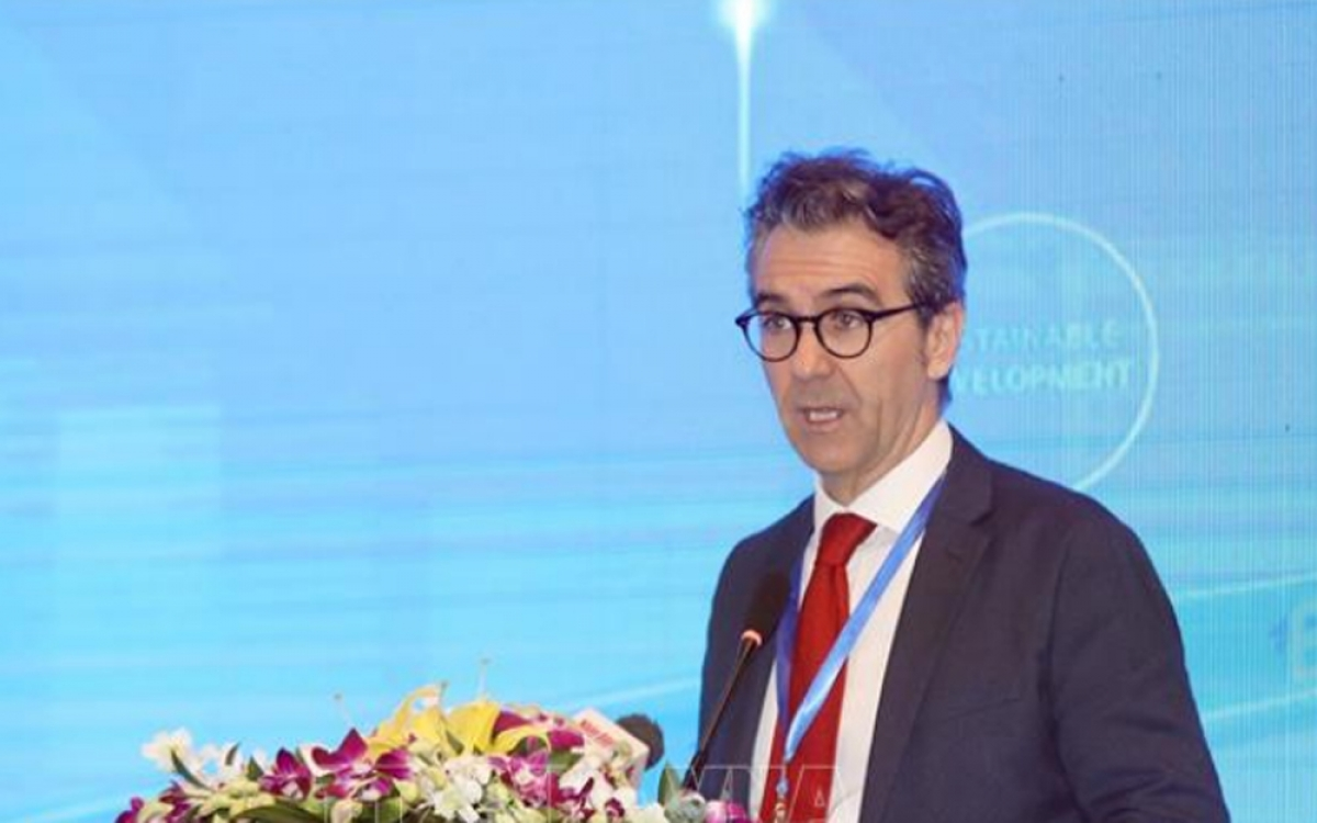 Đại sứGiorgio Aliberti, Trưởng Phái đoàn Liên minh châu Âu tại Việt Nam