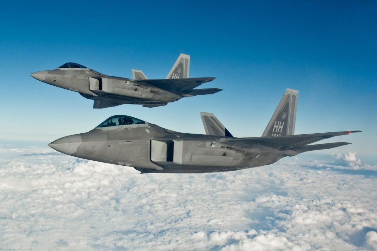 Tiêm kích F-22. Ảnh: Lockheed Martin.