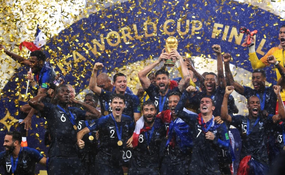 ĐT Pháp sẽ có hành trình dài gần 5.000 km đến Kazakhstan trong hành trình bảo vệ cúp Vàng World Cup. (Ảnh: Getty).