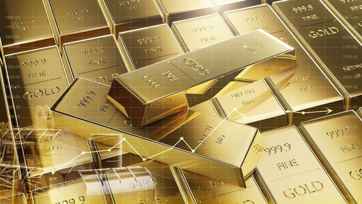 Giá vàng thế giới giảm nhẹ -Tintuccophieu.com