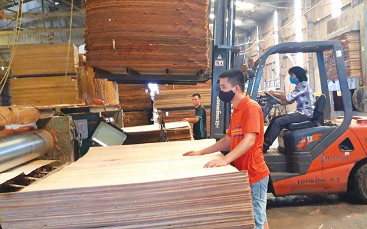Kim ngạch xuất khẩu gỗ tăng mạnh bất chấp ảnh hưởng của đại dịch Covid-19. (Ảnh minh họa: KT)