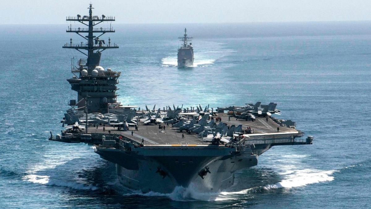 Hải quân Mỹ sẽ tăng cường hiện diện quân sự tại khu vực Ấn Độ-Thái Bình Dương. Ảnh AFP